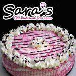 Sara's Ice Cream Cake - Black Raspberry Cheesecake
