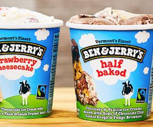 Ben & Jerry's ice cream distributor