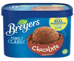 Breyers Classic Ice Cream Tub distributor