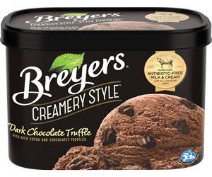 Breyers Creamery Style Ice Cream Tub distributor