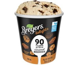 Breyers delights low calorie ice cream pint Canada distributor