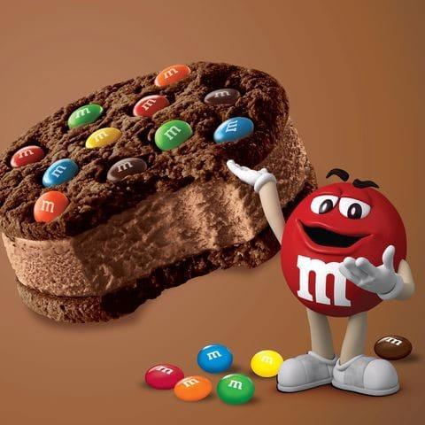 Mars M&M's Ice Cream Sandwich distributor