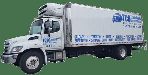 TransCold frozen truck transportation logistics