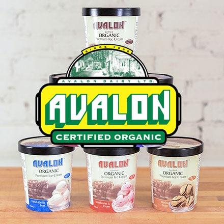 Organic Ice Cream by Avalon