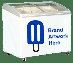 4 basket ice cream freezer equipment