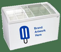 5 basket novelty ice cream freezer equipment