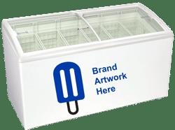6 basket novelty freezer equipment