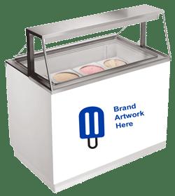 Ice Cream Scooping Freezer Equipment