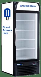 Upright freezer equipment