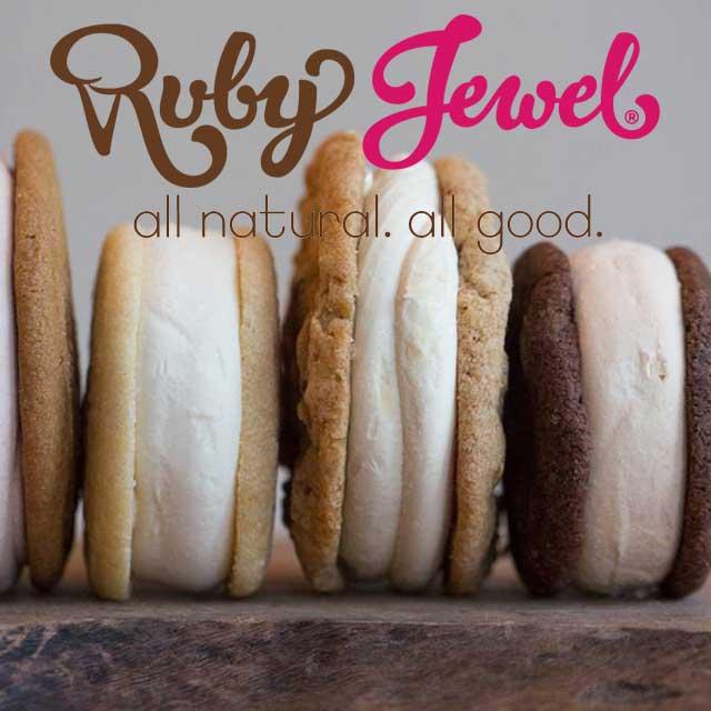 Ruby Jewel Artisan Ice Cream Sandwiches