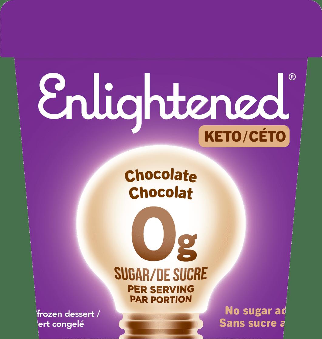 Enlightened Chocolate Keto Ice Cream