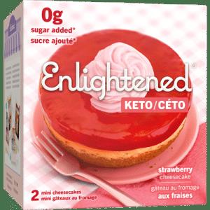 Enlightened Strawberry Cheesecake